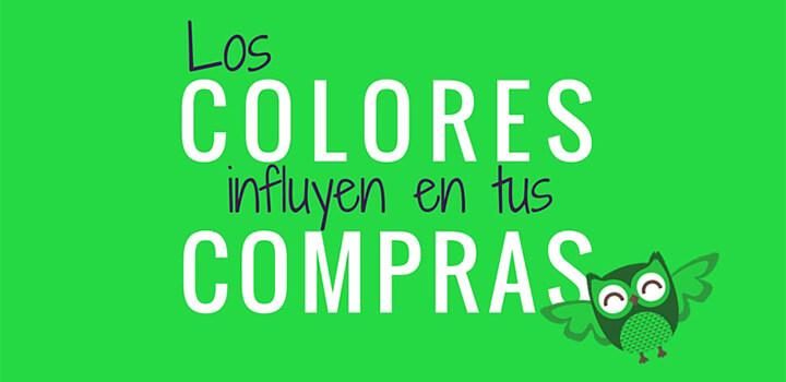 Los colores influyen en las compras