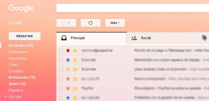 Marcar correo Gmail