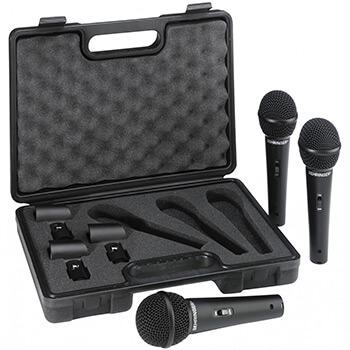 Micrófonos Behringer