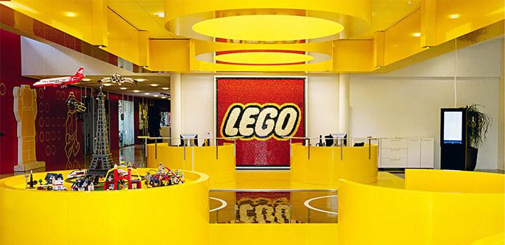 Recibidor Oficinas Lego