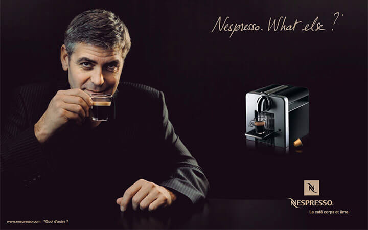 Nespresso y George Clooney