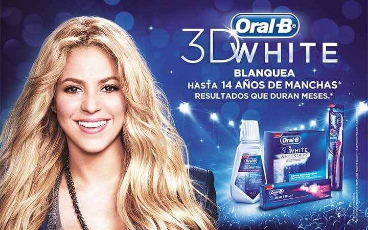 Oral B y Shakira